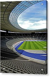Olympic Stadium - Berlin Acrylic Print by Juergen Weiss