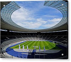 Olympic Stadium Berlin Acrylic Print by Juergen Weiss