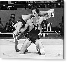 Olympics: Wrestling, 1972 Acrylic Print by Granger