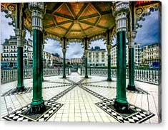 On The Bandstand Acrylic Print by Chris Lord