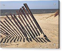 On The Beach Acrylic Print by Odd Jeppesen