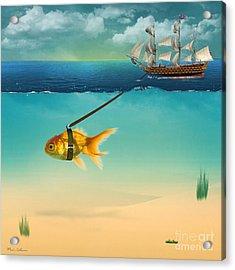 On The Way  Acrylic Print by Mark Ashkenazi