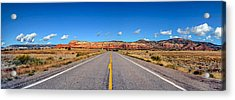 On The Way To The Ghhost Ranch Acrylic Print by John Pierpont