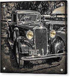 One Cool 1935 Dodge Pickup Acrylic Print by Thom Zehrfeld