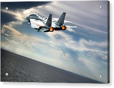 One Fast Cat Vf-31 Acrylic Print by Peter Chilelli