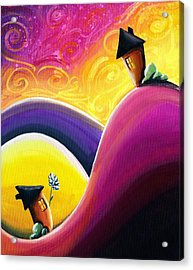 One Song Acrylic Print by Cindy Thornton