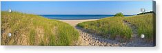 Onekama Michigan Beach Acrylic Print by Twenty Two North Photography