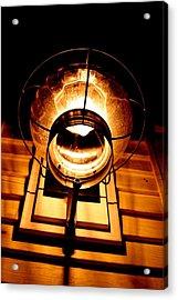 Onion Lamp At Night Acrylic Print by Robert Morin