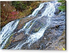 Onion River Waterfalls Acrylic Print by Sandra Updyke