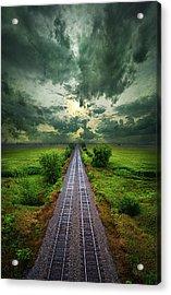 Onward Acrylic Print by Phil Koch
