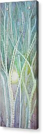 Opalescent Twilight II Acrylic Print by Shadia Zayed