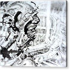 Open Acrylic Print by David Frantz