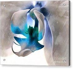 Orchid Of Hope Acrylic Print by Krissy Katsimbras
