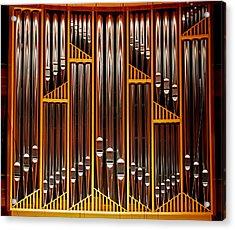 Organ Opus 76 - Philadelphia Acrylic Print by Rona Black