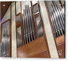 Organ Pipes Acrylic Print by Ann Horn