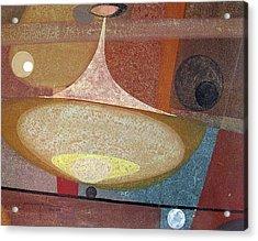 Os1958ar002ba Abstract Design 14x11 Acrylic Print by Alfredo Da Silva