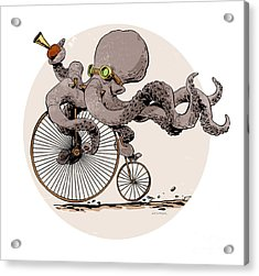 Otto's Sweet Ride Acrylic Print by Brian Kesinger
