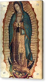 Our Lady Of Guadalupe Acrylic Print by Pam Neilands