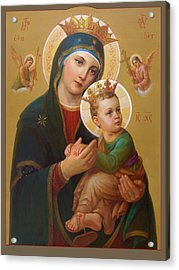 Our Lady Of Perpetual Help - Perpetuo Socorro Acrylic Print by Svitozar Nenyuk