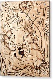 Our World No.3  Divine Plan Acrylic Print by Neshka Muchalska