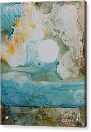 Out Of Nothing Acrylic Print by Elizabeth Carr