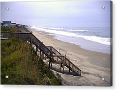 Outer Banks Acrylic Print by Patrick  Flynn