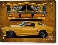 Outstanding Riviera Acrylic Print by Jim  Hatch