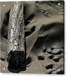 Over The Dune Acrylic Print by Bonnie Bruno