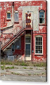 Over Under The Stairs Acrylic Print by Christopher Holmes