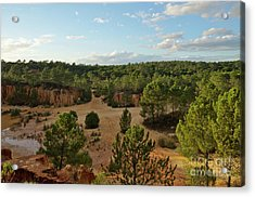 Overview Of Ludo From The Cliffs Acrylic Print by Angelo DeVal