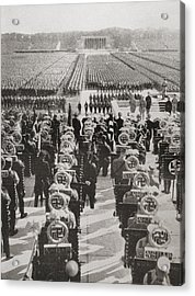 Overview Of The Mass Roll Call Of Sa Acrylic Print by Vintage Design Pics