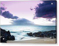 Paako Beach Treasures Acrylic Print by Sharon Mau