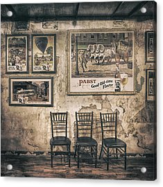 Pabst Good Old Time Flavor Acrylic Print by Scott Norris