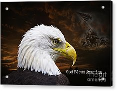 Paid In Full Acrylic Print by Cris Hayes