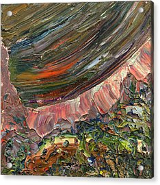 Paint Number 10 Acrylic Print by James W Johnson