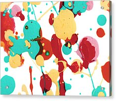 Paint Party 4 Acrylic Print by Amy Vangsgard