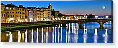 Panoramic Florence Italy Acrylic Print by Frozen in Time Fine Art Photography