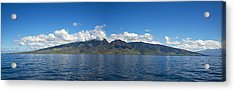 Panoramic West Maui Acrylic Print by Dave Fleetham - Printscapes