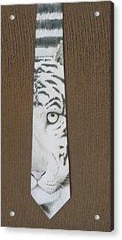 Panthera Tigris Acrylic Print by David Kelly