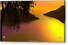 Paradise Island Acrylic Print by Wayne Bonney