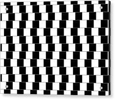 Parallel Lines Acrylic Print by Michael Tompsett