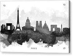 Paris Cityscape 11 Acrylic Print by Aged Pixel