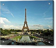 Paris Acrylic Print by Dian Qi