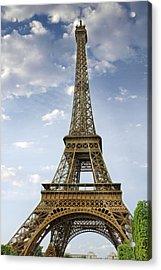 Paris Eiffel Tower Acrylic Print by Melanie Viola