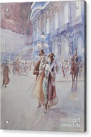 Paris Acrylic Print by Georges Stein