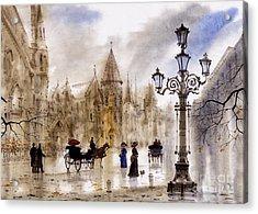 Paris Acrylic Print by Svetlana and Sabir Gadghievs