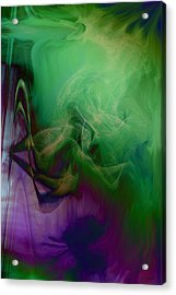 Part Of Rapture Acrylic Print by Linda Sannuti