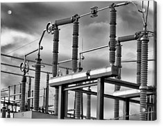Part Of The Grid Acrylic Print by Bob Orsillo
