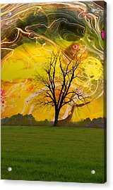Party Skies Acrylic Print by Jan Amiss Photography