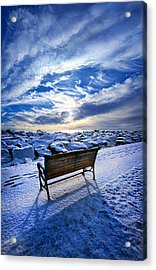 Passing The Time Away Acrylic Print by Phil Koch